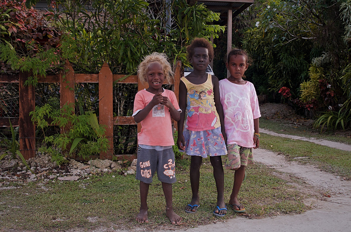 Munda Solomon Islands Girls