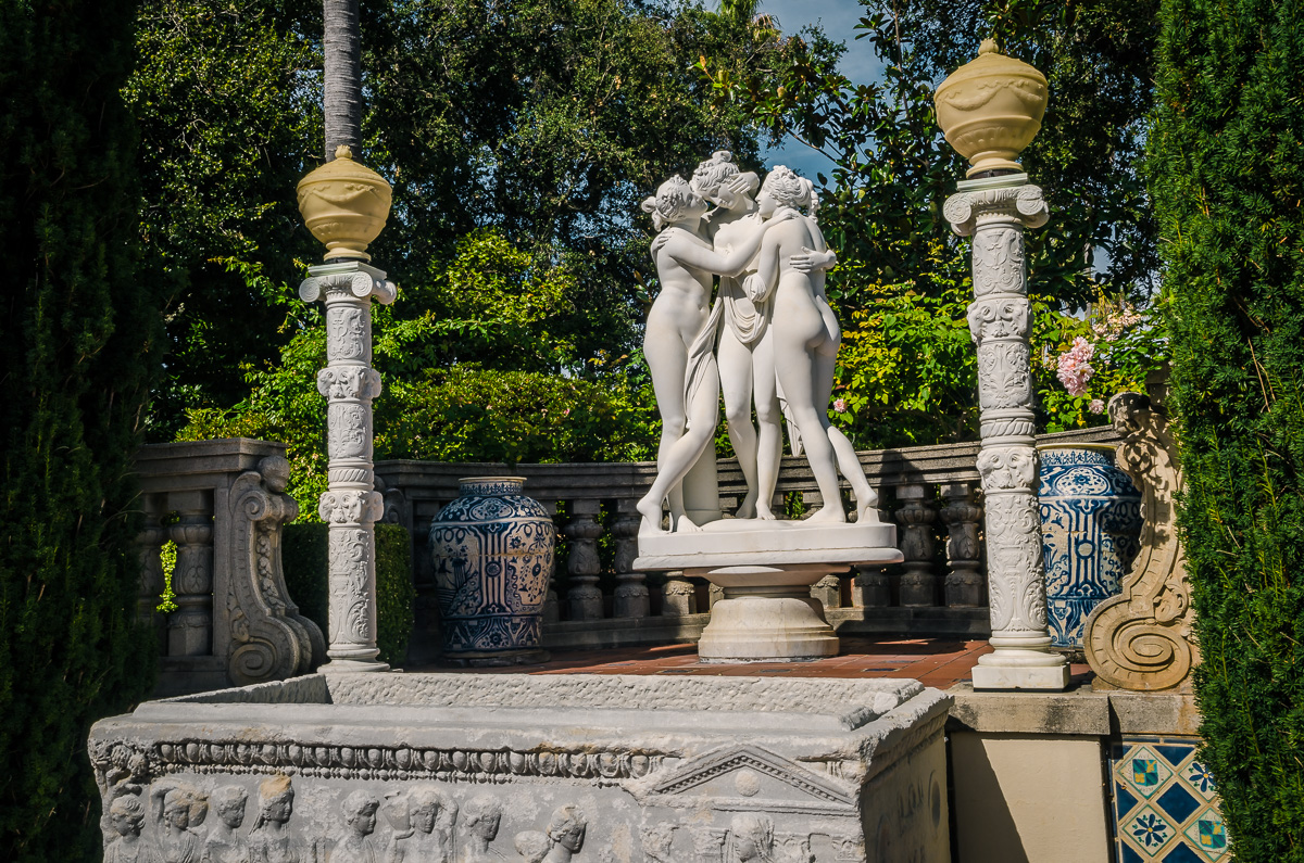 Three Graces Statue Hearst Castle