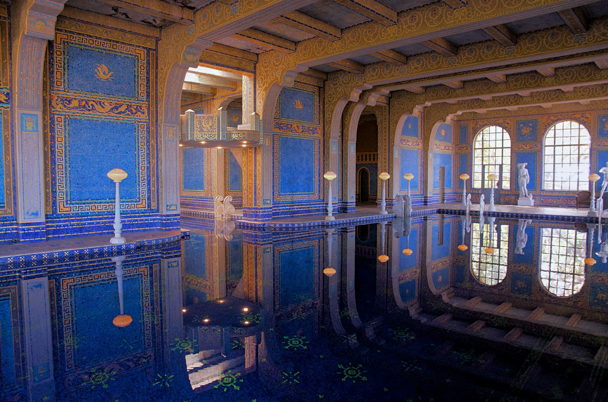 Roman Pool, Hearst Mansion