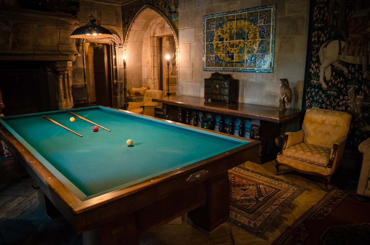 Hearst Pool Table Room