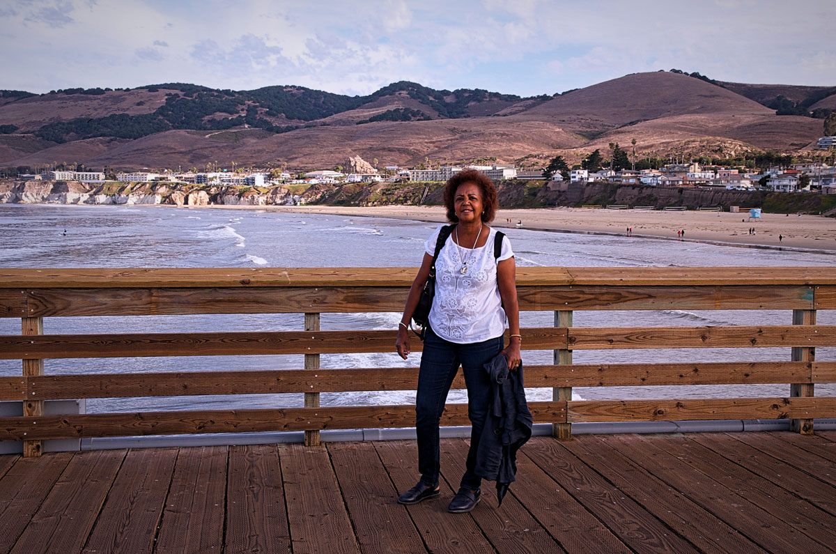 Pismo Pier and Hills