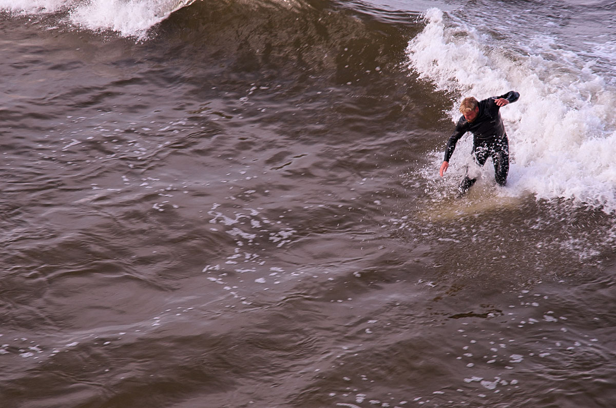 Pismo Beach Surfer