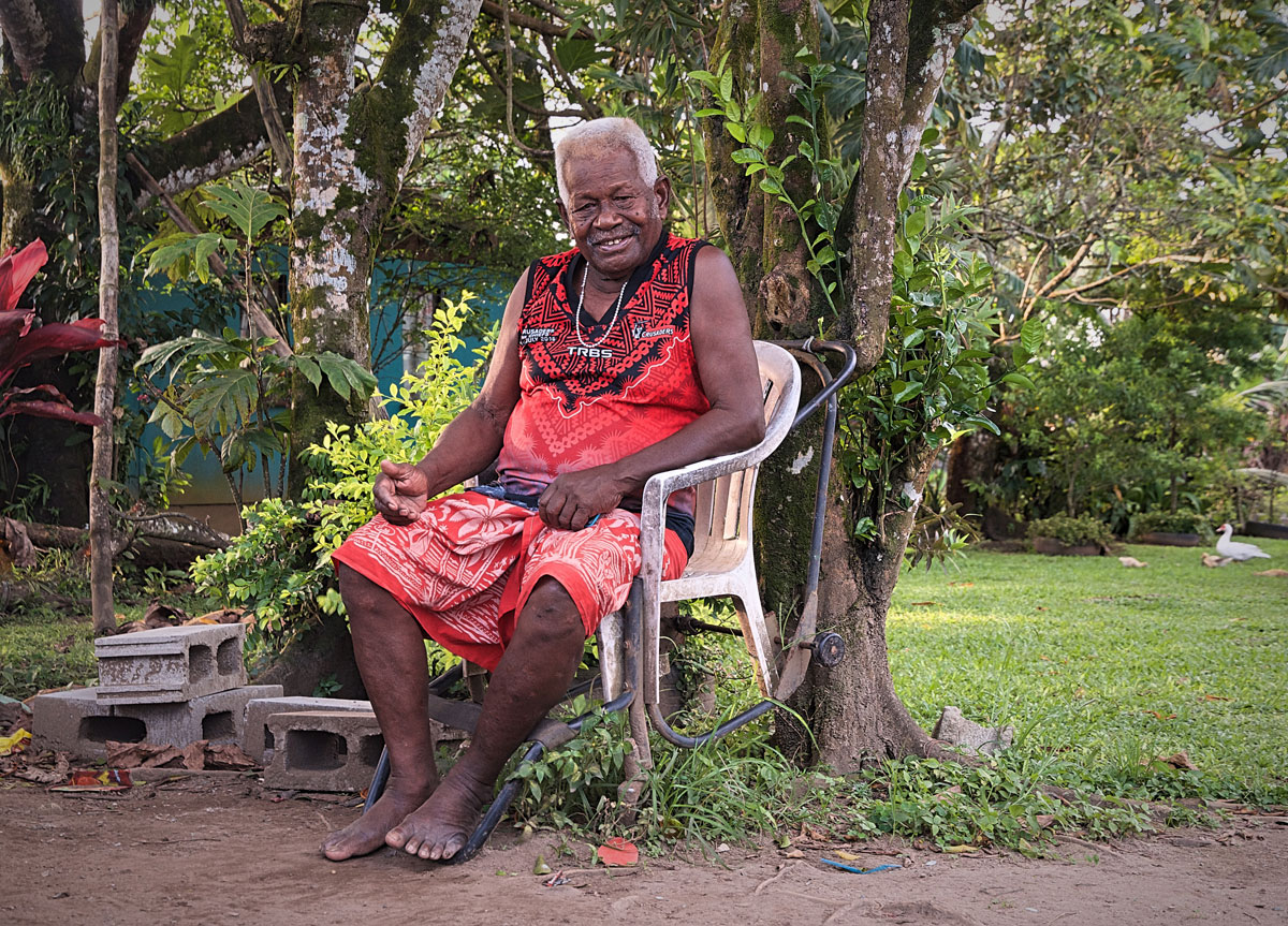 Fijian Grandfather