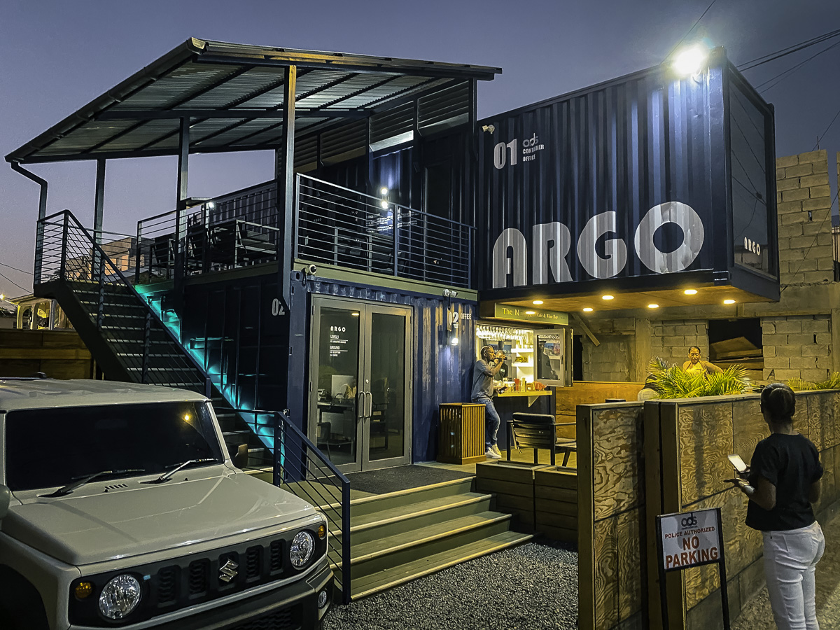 The Nook Shipping Container Coffee House