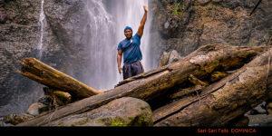 Sari Sari Falls Dominica