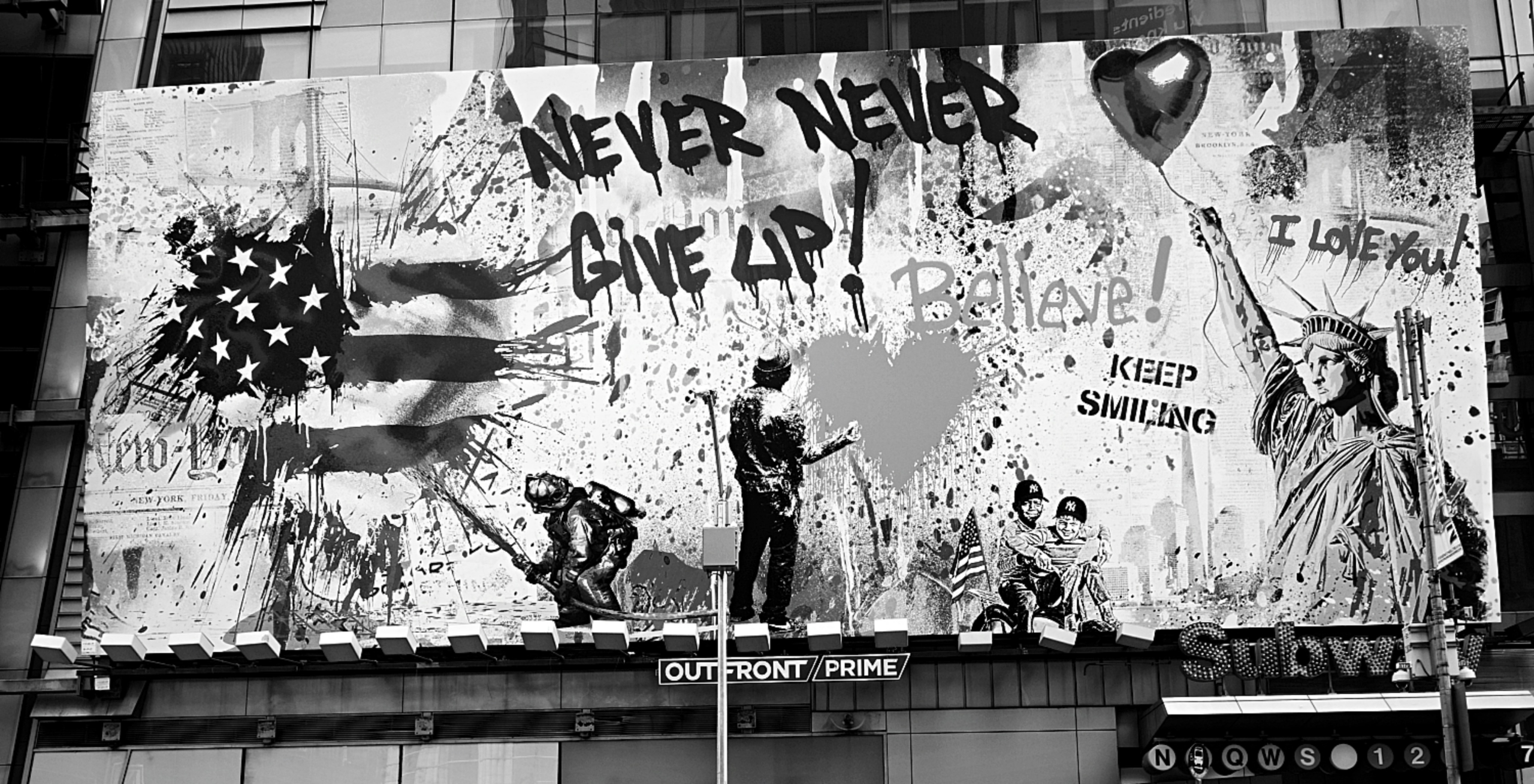 Never Give Up New York City