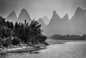 River along the Guilin Peaks