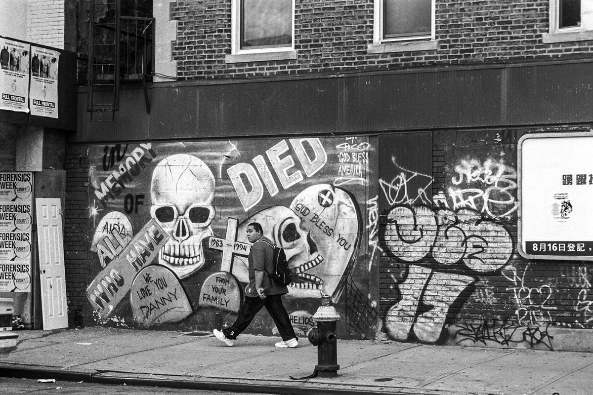 Lower East Side - Danny Memorial Mural