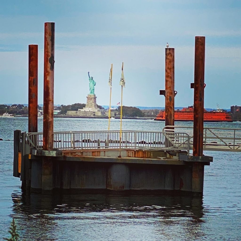 Red Hook View of Statue of Liberty
