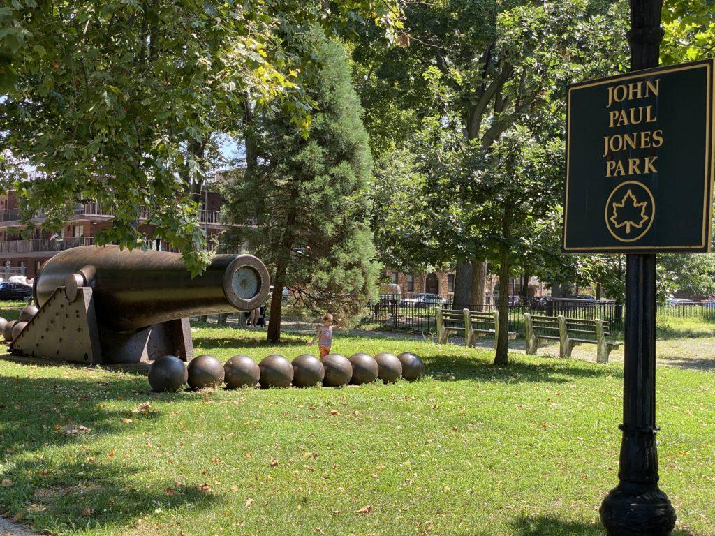 John Paul Jones Park Brooklyn