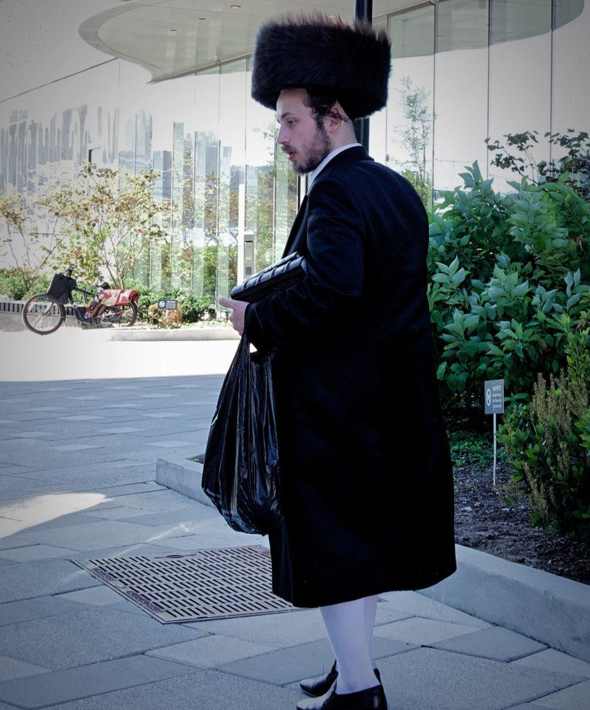 Williamsburg Man with Shtreimel Hat