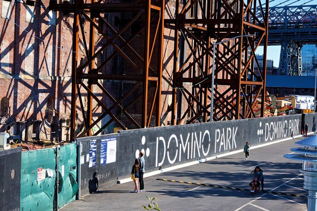 Domino Park Fence