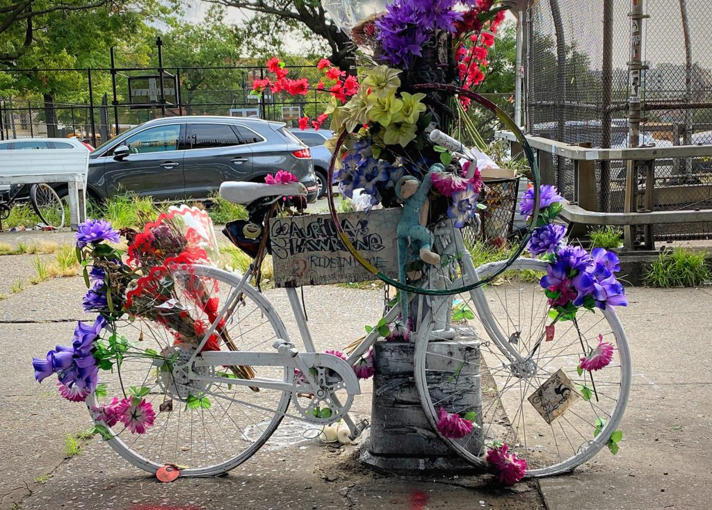 Williamsburg Brooklyn Ghost Bike