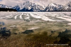 Jackson Lake with Mountain Reflections