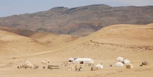 Jordan - Mount Nebo Tents