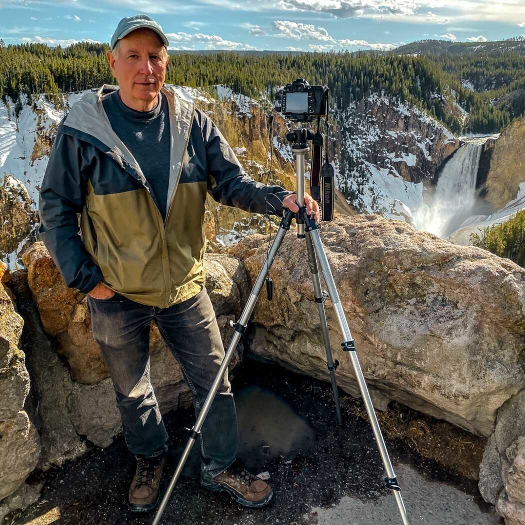 Lower Falls Yellowstone Scenic Overlook