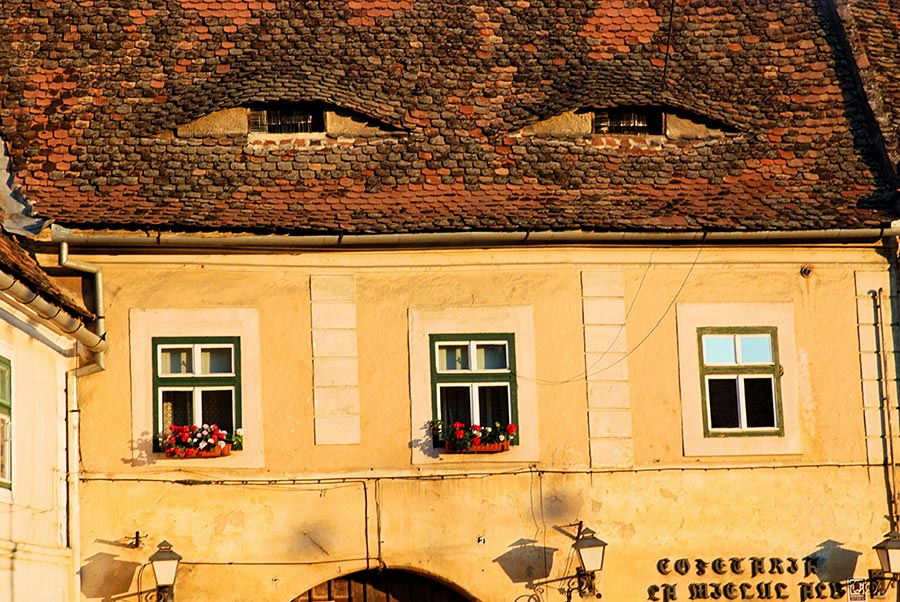 Sibiu - House with Eyebrow Dormers